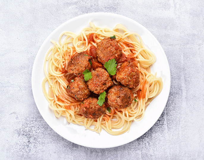 spaghetti and meatballs feature