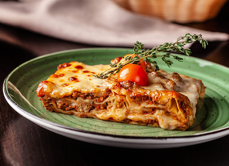 traditional holiday dishes lasagna